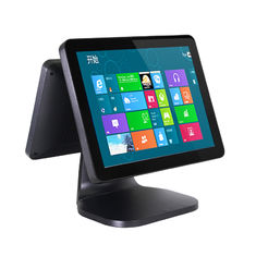 "Good Quality Touch PC POS & High Performance 15"" Dual Screen POS Windows Touch Screen 12"" LED Display on sale"