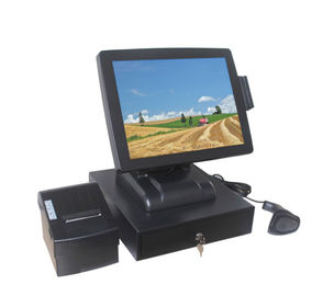 High Definition Touch Screen Pos System CJ - T610 With 58 Mm Thermal Printer