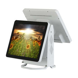 Good Quality Touch PC POS & Cpu Intel J1900 Hotel Dual Display Pos System TFT Panel With SIM Card on sale