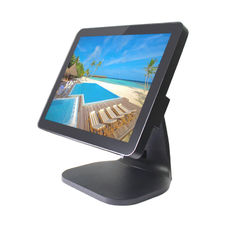 Good Quality Touch PC POS & 400 CD / M2 Point Of Sale Systems , 10 - Ponits Capacitive Android Pos Device on sale