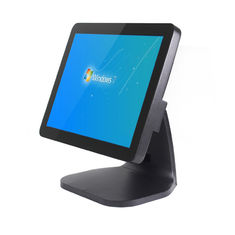 Good Quality Touch PC POS & 400cd/㎡ Brightness All In One POS A5 Black Cash Register 50-60Hz For Restaurant on sale