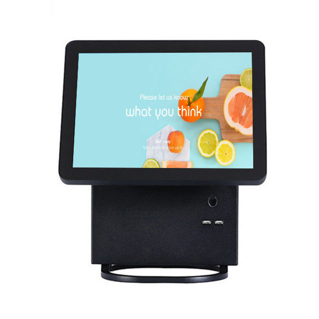 Win7 OS Point Of Sale Terminal Restaurant Pos System With Aluminium Alloy Housing