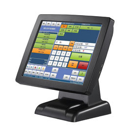 Stand High Resolution Retail Point Of Sale Systems With Black Barcode Scanner