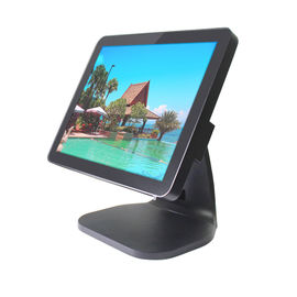 Windows Or Linux OS Pos Computer System 12 Inch Fanless Design Lcd Monitor