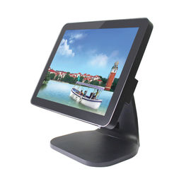 China Flat Retail Point Of Sale Systems , Touch Screen Pos System USB * 6 With MSR factory