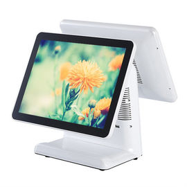 15 Inch White Color Win XP 10 Windows Pos System With Hard Plastic Housing
