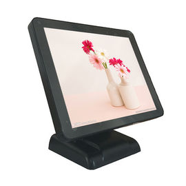 China 17 Inch Black Color Point Of Sale Systems , 32GB Small Windows Based Pos factory