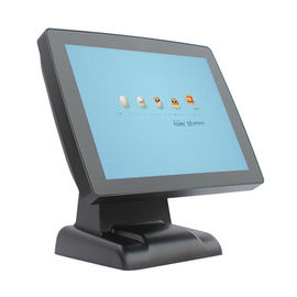 Electronic Retail Point Of Sale Terminal Double Side Touch Screen Cashing Machine