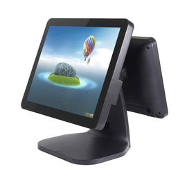 "15"" Small Business Retail Pos Systems , Industrial Grade Point Of Sale Devices"