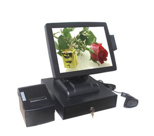 China 32G SSD Touch Screen Pos System With 10 Points Capacitive Touch Screen factory