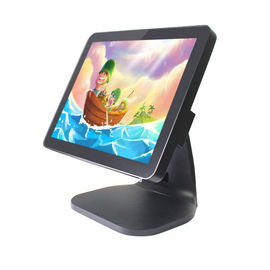 China 15 Inch Flat Pos System Touch Screen Monitor , Business Touch Screen Cash Register factory