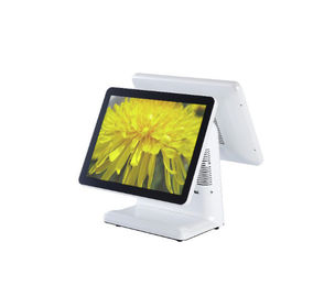 Restaurant Touch Screen Pos System / Point Of Sale Monitor Energy Saving CPU